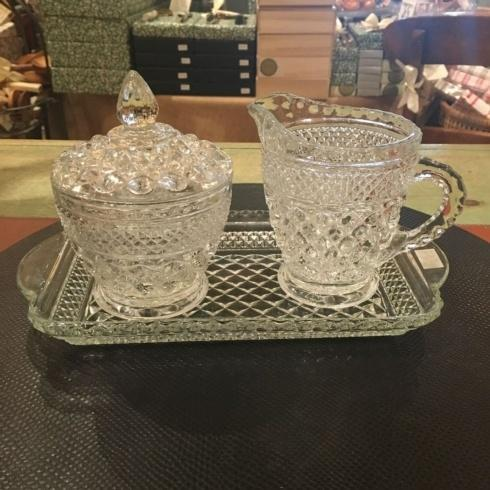 $250.00 Cream and Sugar 3 Pieces Vintage Set Large
