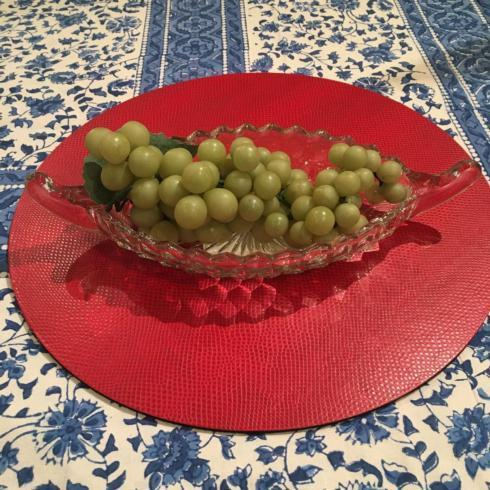 $125.00 Vintage Oval Bowl with Handles
