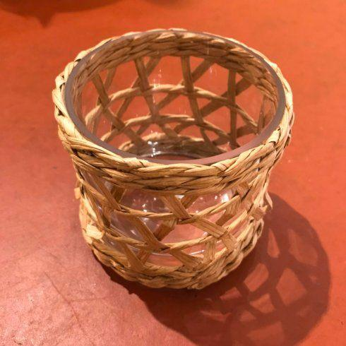 Raffia Votive Holder