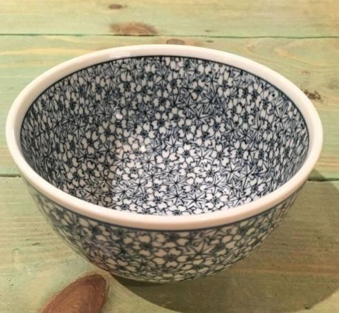 $15.00 Small Deep Japanese Bowl. Flowers