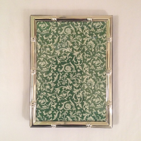 William-Wayne & Co. Exclusives   4 x 6 Silver Bamboo Frame $40.00