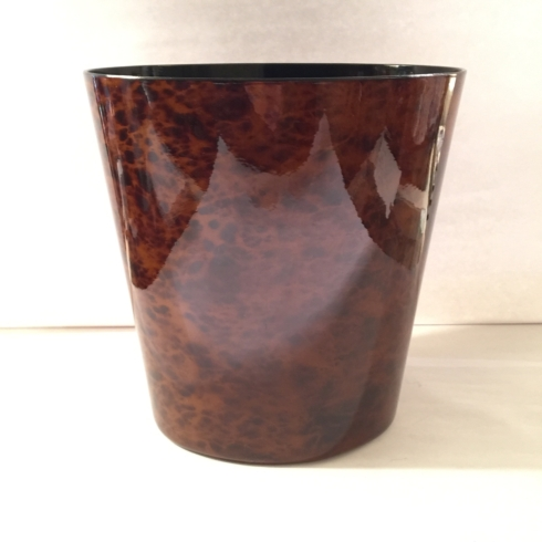 William-Wayne & Co. Exclusives   Tortoise Wastebasket $80.00