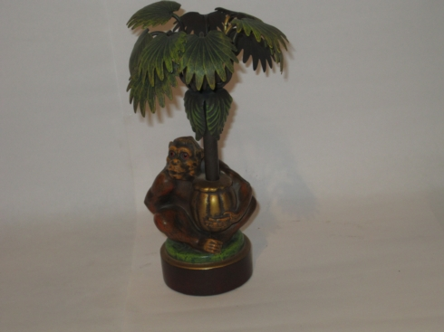 William-Wayne & Co. Exclusives   Hand painted monkey candle stick holder $125.00