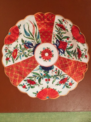 Red Round Imari Placemat collection with 1 products