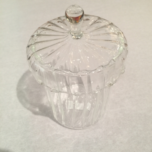 William-Wayne & Co. Exclusives   Small Blown Glass Apothecary Jar $30.00