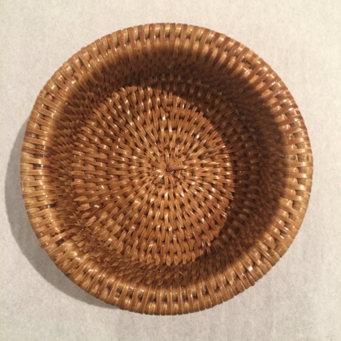 Rattan Wine Coaster collection with 1 products