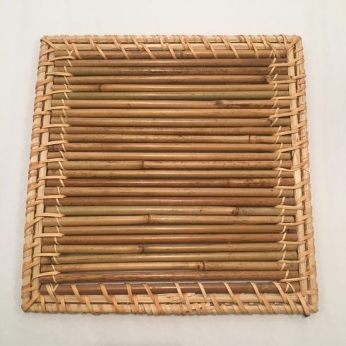 Straw and Rattan Trivet / Luncheon Mat collection with 1 products