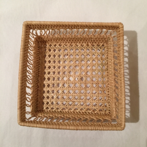 $37.50 Small Square Bread Basket