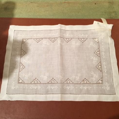Embroidered Linen Placemat collection with 1 products