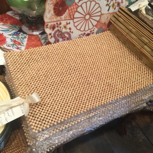 Wooden Bead Placemat collection with 1 products