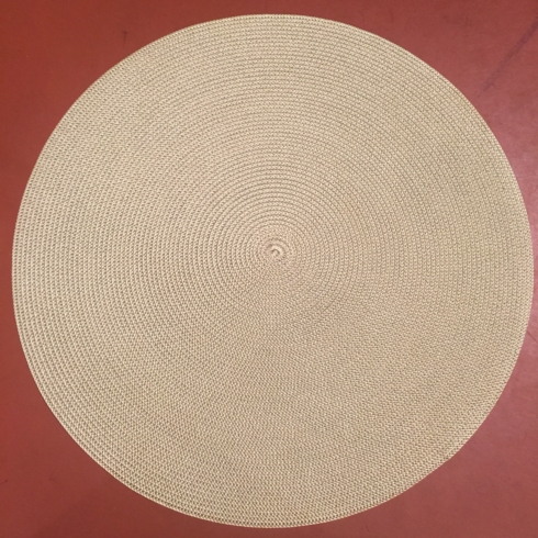 $22.50 Green Round Placemat