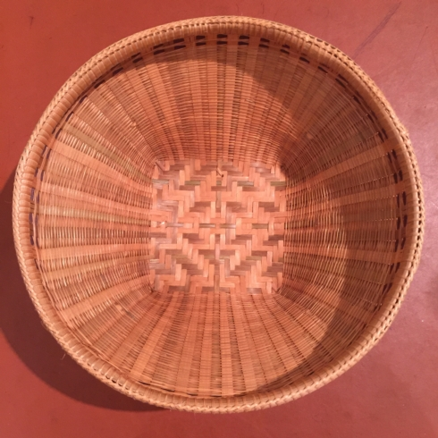 William-Wayne & Co. Exclusives   Large Woven Bread Basket $55.00