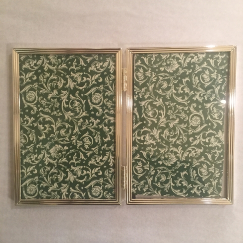 "William-Wayne & Co. Exclusives   4"" x 6"" Narrow Grove Double Frame $60.00"