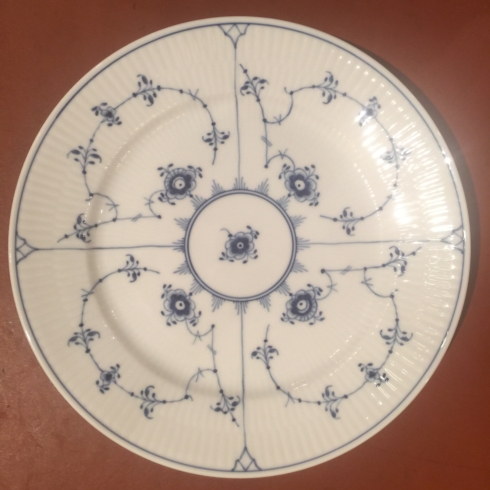 William-Wayne & Co. Exclusives   Royal Copenhagen Blue and White Salad Plate $150.00