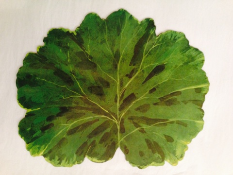 $15.00 Green Leaf Placemat