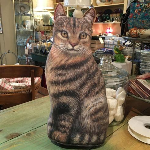 $47.50 Cat Door Stopper. Brown