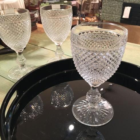 $16.50 Vista Alegre Wine Glass