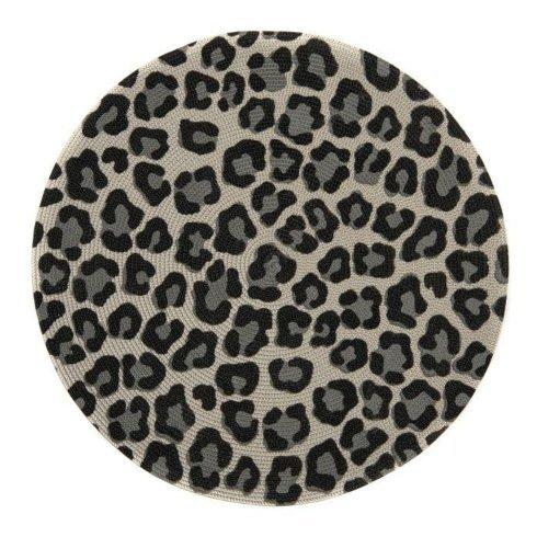 Black and Grey Cheetah Placemat
