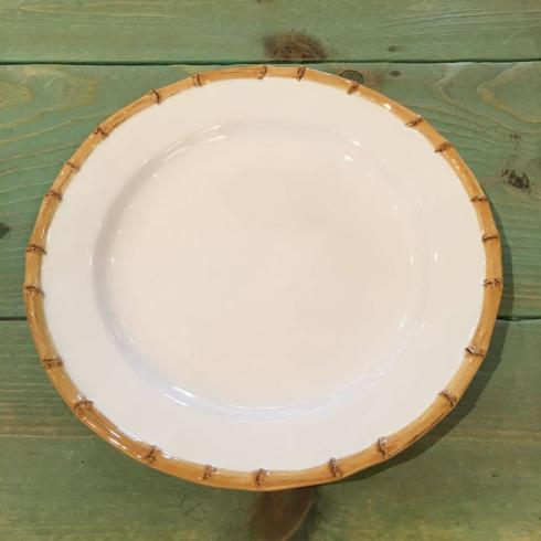 $47.50 Bamboo Trim Dinner Plate