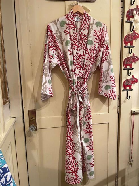 $115.00 Red Coral Robe