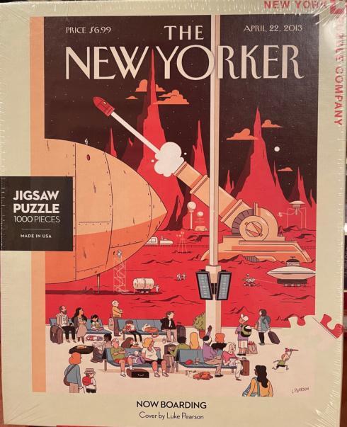 Now Boarding 1000 Pieces Puzzle