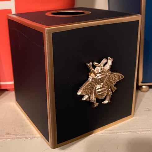 Golden Bee Tissue Box Cover
