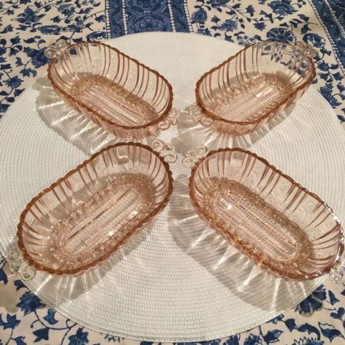 $75.00 Pink Glass Vintage Bowl