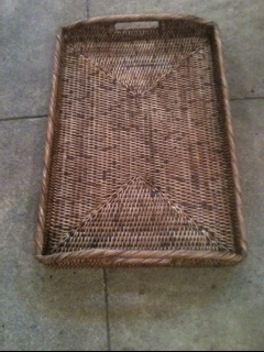 William-Wayne & Co. Exclusives   Rattan Tray $140.00