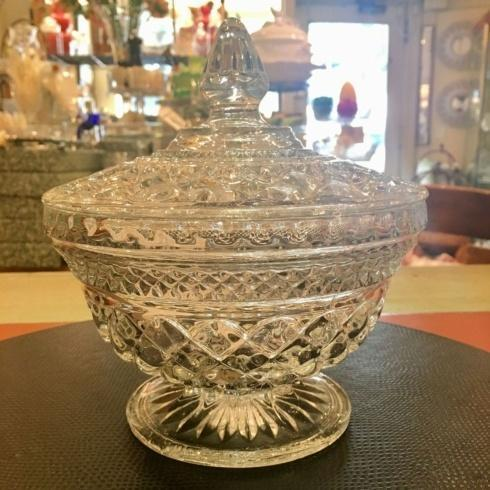 $295.00 Vintage Lidded Candy Bowl