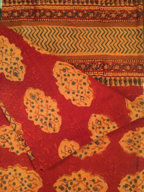$47.50 Indian Throw/Tablecloth Kesington Red