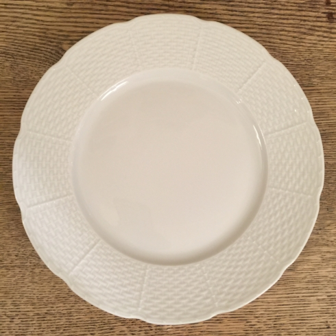William-Wayne & Co. Exclusives   Raynaud All White Limoge Dinner Plate $60.00