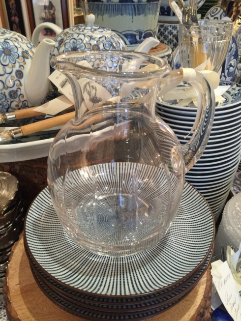 William-Wayne & Co. Exclusives   Crystal Pitcher $80.00