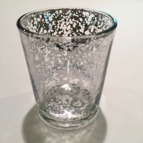 William-Wayne & Co. Exclusives   Distressed Silver Candle Votive $8.00