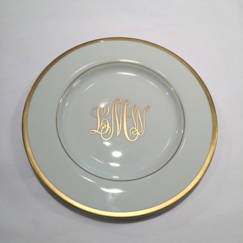 $55.00 Pickard Signature Salad Plate Ultra White