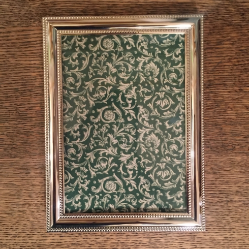 William-Wayne & Co. Exclusives   5 x 7 Beaded Frame  $45.00