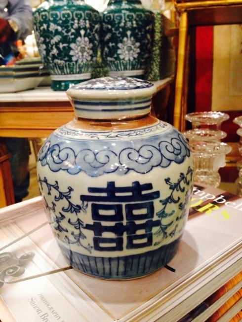 """William-Wayne & Co. Exclusives   Small """" Happy"""" Jar $75.00"""