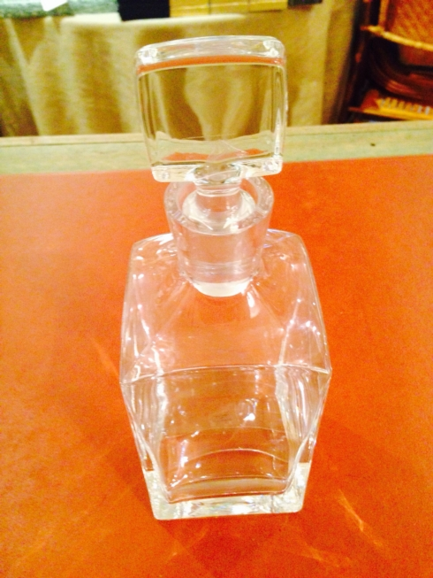 William-Wayne & Co. Exclusives   Glass Square Decanter $90.00