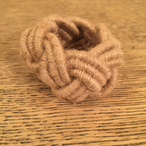 Rope Napkin Ring collection with 1 products