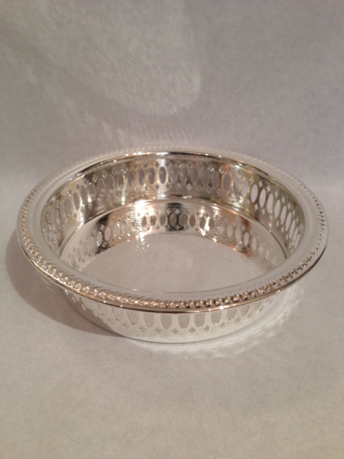 William-Wayne & Co. Exclusives   Pierced Silver Wine Coaster $37.50