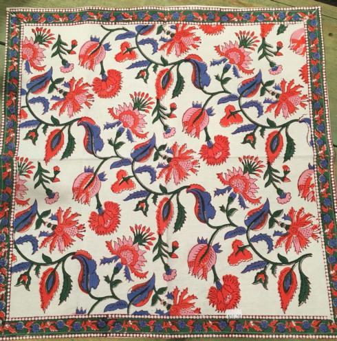 $16.50 Cotton Napkin Indian Garden