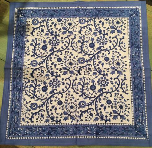 $10.00 Cotton Napkin Rajastan Blue and White