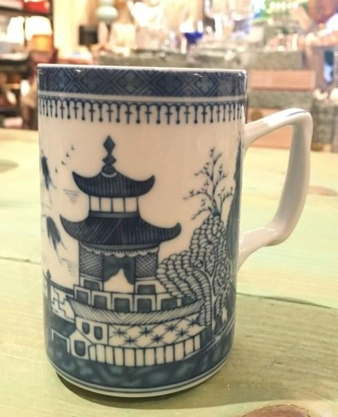 $55.00 Mottahedeh. Blue Canton Mug