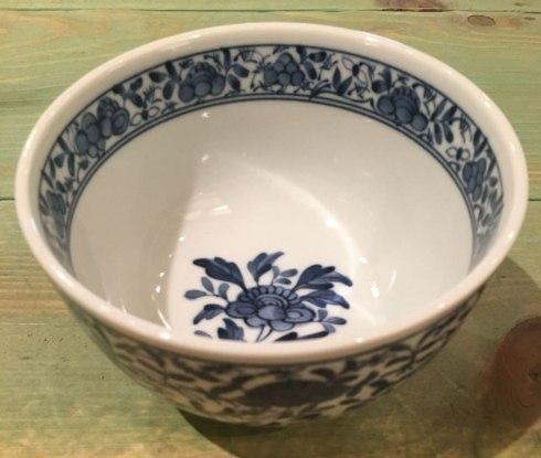 $15.00 Small Deep Japanese Bowl. Rose