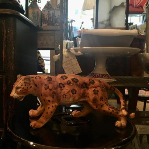 Vintage Ceramic Leopard collection with 1 products