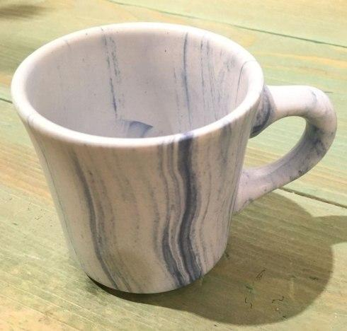 $22.50 Marbleized Light Blue Mug