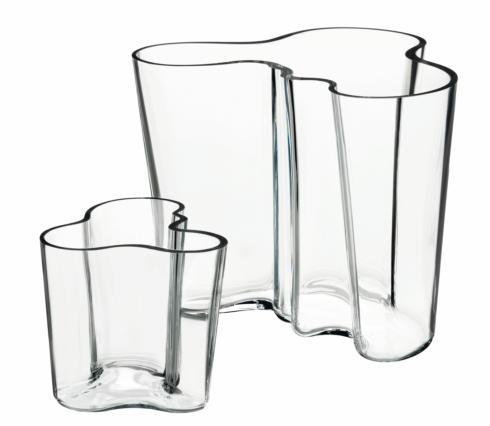 """$236.00 Vase 6.25"""" & 3.75"""" S/2 Clear"""