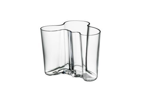 """$72.00 Vase 3.75"""" Clear"""