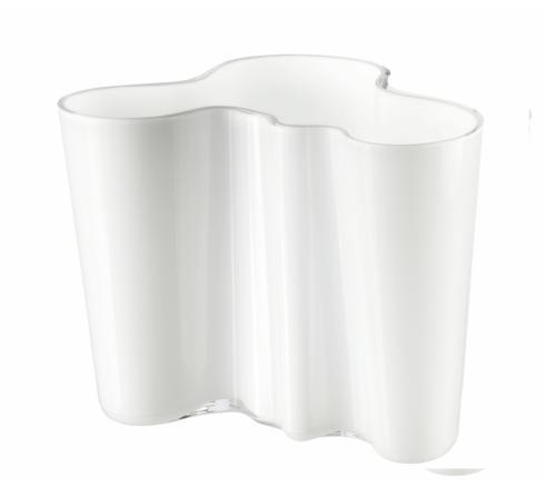 """$168.00 Vase 6.25"""" White"""