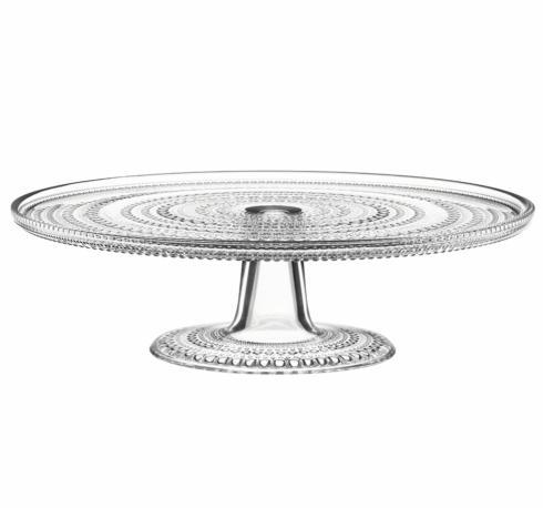 """$80.00 Cake Stand Clear 12.5"""""""