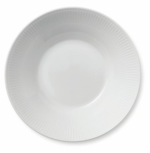 Royal Copenhagen  White Fluted Pasta Bowl $40.00